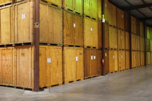 Warehouse Storage Crates